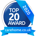 carehome.co.uk Top 20 Award